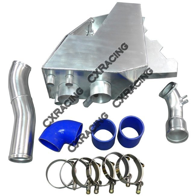 Twin Turbo Kit Rx7: Cold Air Intake Pipe Airbox Kit For RX7 RX-7 FD Stock Twin