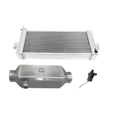 Heat Exchanger Liquid Water to Air Intercooler Pump Kit