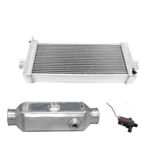 "5"" Liquid Water to Air Intercooler Heat Exchanger Pump Kit"