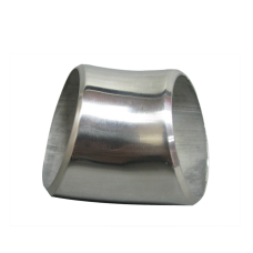 """1.75"""" O.D. Extruded 304 Stainless Steel Elbow 45 Degree Pipe , 3mm (11 Gauge) Thick"""