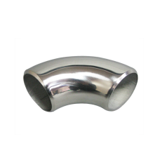 """1.75"""" O.D. Extruded 304 Stainless Steel Elbow 90 Degree Pipe , 3mm (11 Gauge) Thick"""