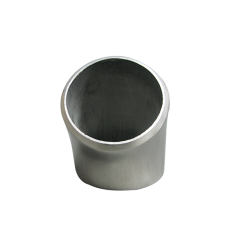 """1.9"""" O.D. Extruded 304 Stainless Steel Elbow 45 Degree Pipe , 3mm (11 Gauge) Thick"""