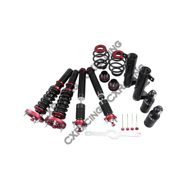 coilover suspension kit with pillow ball   camber plate