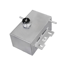 Aluminum Coolant Reservoir Overflow Tank For 2015-16 Ford Mustang