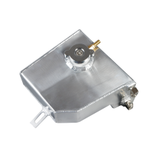 Aluminum Coolant Overflow Fill Tank for 89-94 NISSAN 240SX, Fit S13 Chassis with all Engines