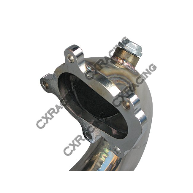 """2.5"""" Turbo Downpipe For Honda Civic D-Series Engine D15"""