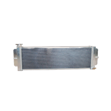 """Aluminum Heat Exchanger For Air to Water Intercooler Applications, Core: 24""""x8""""x2.5"""""""