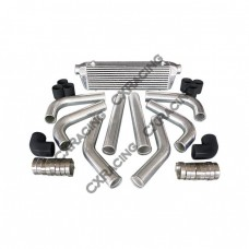 "28x7x2.5 inch Universal Intercooler +  2.5"" Piping Kit for ECLIPSE LANCER MIRAGE"