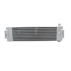 22x5.5x2.5 Aluminum Universal Oil Cooler AN 10 For Nissan KA24DE Infiniti G35