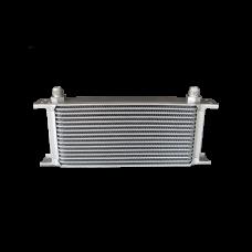 "Aluminum Oil Cooler 11"" Core 16 Row AN8 Fitting Hi Performance"