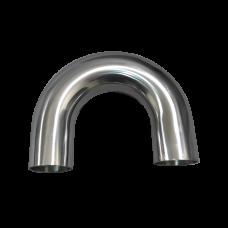 "1.75"" 180 degree U 304 Stainless Steel Pipe Manifold Mandrel Bent"