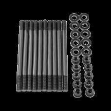 Chromoly Cylinder Head Stud Bolt Kit for Honda D16A D16Z Engine