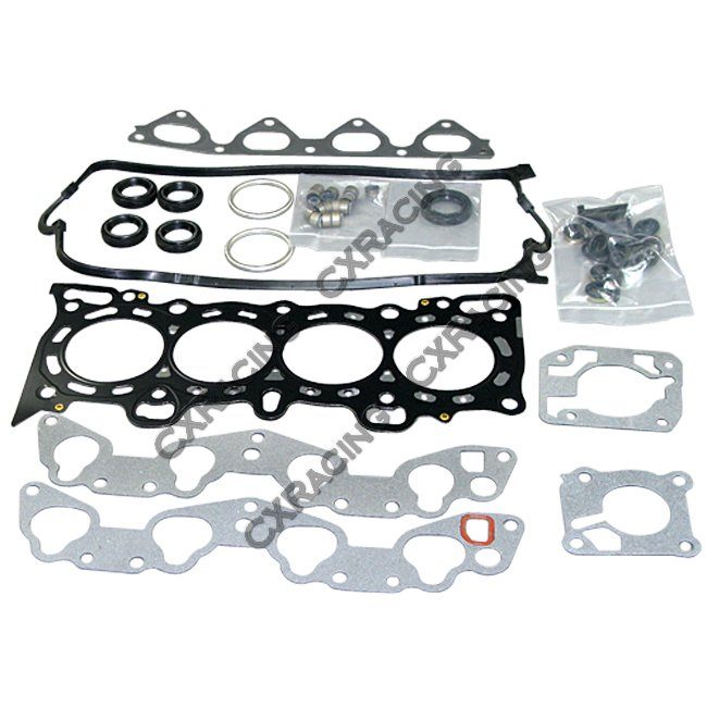 Engine Gasket Kit Metal 3 Layers For Civic CRX D15 D16