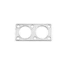 "Exhaust Downpipe Gasket for Mazda RX-7 RX7 13B Rotary Engine Dual 2"" Holes"