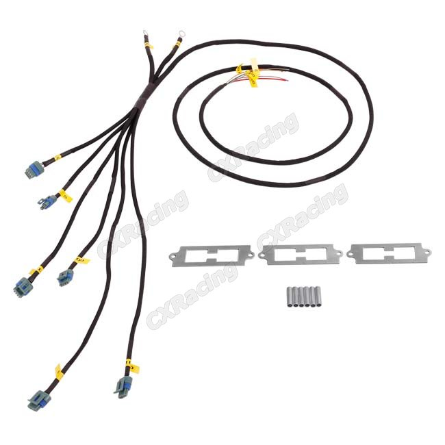 lq9 ignition coil packs bracket wire harness kit for 2jz