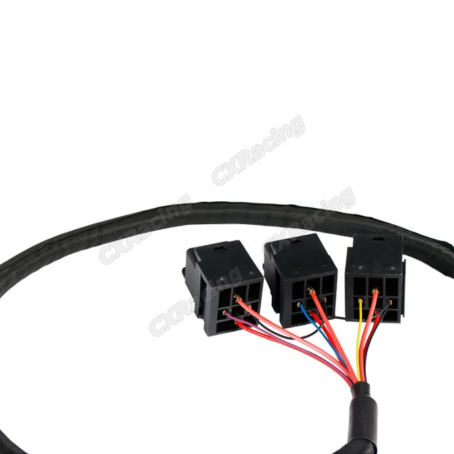 3x 30a 12v Dc Relay Wire Harness 3ft Long For Ecu Fan Lights
