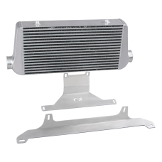 "4 ""Core Intercooler + Mounting Bracket For 74-81 Chevrolet Camaro"