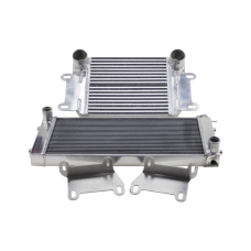 Intercooler Radiator Bracket Kit For Nissan Datsun 510 Swap SR20DET KA24DE 13B