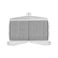 "2-In-1-Out Twin Turbo Bar & Plate Intercooler 3.5"" Core Dual 2.5 Inlet"