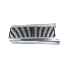 Bar & Plate Aluminum Turbo Intercooler 26x13x3.5 For Mustang V8 5.0