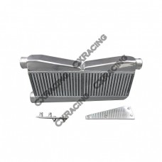 27x15.5x3.5 2-In-1-Out Intercooler + Brackets For 79-93 Ford Mustang Camaro
