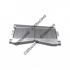 Twin Turbo FMIC Intercooler 2-in-1-out For Mustang Camaro