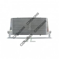 31x12x3 intercooler + Mounting Brackets For 92-02 Toyota Supra MK4