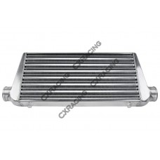 "3"" Inlet & Outlet 31x11.75x2.75 Tube & Fin Intercooler For IMPREZA Nissan"