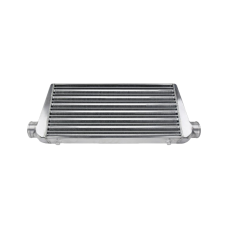 """3"""" Inlet & Outlet 31x11.75x2.75 Tube & Fin Intercooler For IMPREZA Nissan"""