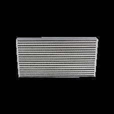 "Universal Intercooler 4"" Thickness Core For Civic B16 300ZX Jetta CRX"