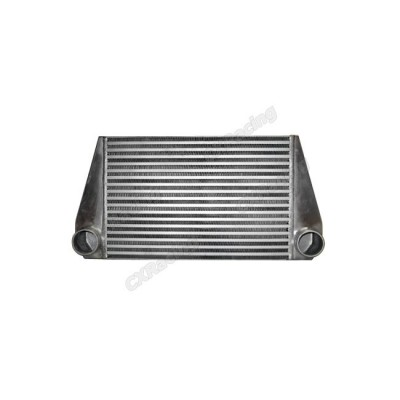 """24""""x12""""x3.5"""" FMIC V-MOUNT TURBO 2.5"""" Inlet & Outlet INTERCOOLER For RX7 RX-7"""