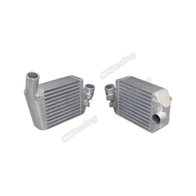 """Upgraded Side Mount Turbo Intercoolers 8""""x7.5""""x3.5"""" For 00 01 02 Audi S4"""