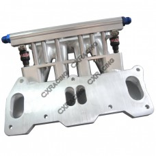 Lower Intake Manifold For Mazda 13B REW Rotary Engine 4 Port RX7 FD