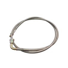 """51"""" AN4 4AN AN 4 NTP 1/8 Braided Oil Feed Line Stainless Steel"""