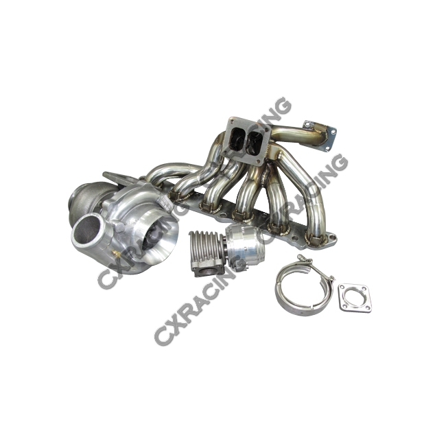 turbo manifold downpipe kit for 86