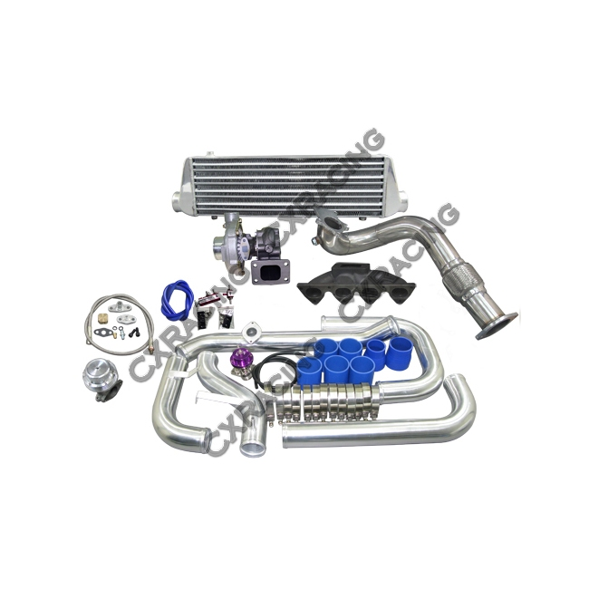 Turbo Kit For 1996 2000 Honda Civic Ek B16 B18 B20 B