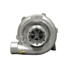 """New 3"""" Air Inlet Design T3 T04E Turbo Charger , 50 AR Compressor, .63 AR Turbine, 5 Bolt Exhaust"""