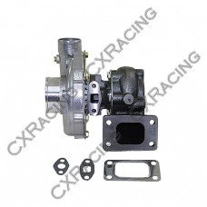 Ball Bearing T04E T3 Turbocharger Turbo, .50 AR Compressor, .63 AR Turbine , 5 Bolt Exhuast