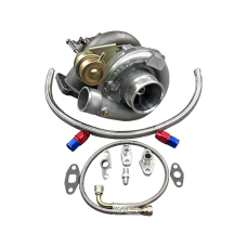 T61 Turbo Charger + Oil Kit Toyota For 86-92 Supra MK3 MK 3 7MGTE Upgrade CT26 Bolt on