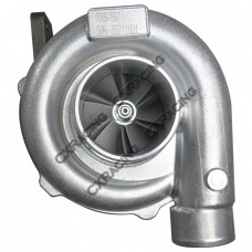 T67 Turbo Charger, Oil Cooled, 0.68 A/R P Trim Turbine for Mid-High End Power, Fast Spool