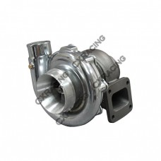 T72 Turbo Charger T4  .81 A/R P Trim , Polished Compressor Housing,  72mm Compressor Wheel