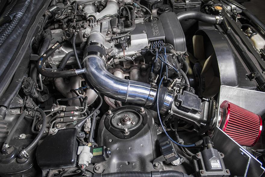Polished Aluminum Air Box for 93-02 Toyota Supra MK4 2JZGE 2JZ