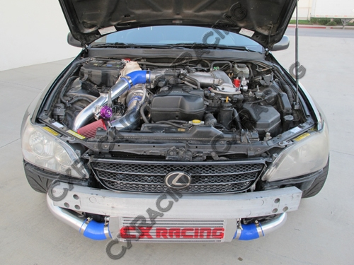 GT35 T4 Turbo Kit Manifold Downpipe For 98-05 Lexus IS300 2JZ-GE NA